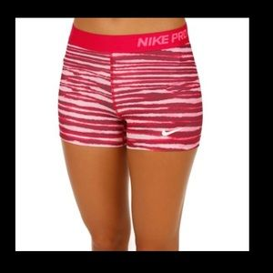 Nike Pro Dry Fit 3 Tiger Ball Shorts sz small
